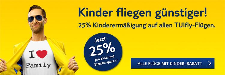 Kinder sparen 25%!