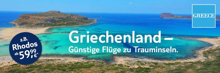 Griechenland-Flüge ab 59,99 €*