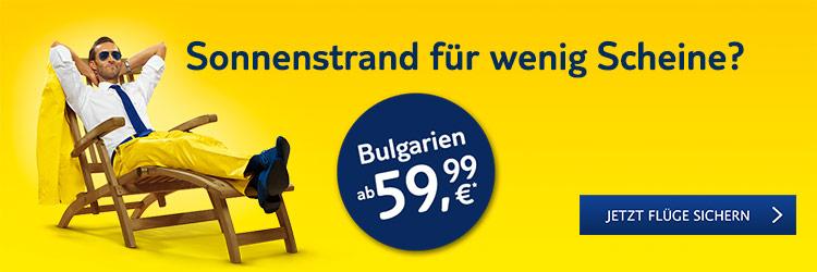 Bulgarien-Flüge ab 59,99 €*