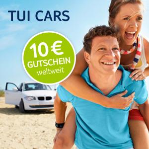 TUI Cars Rabatt-Code